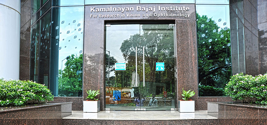 Kamalnayan Bajaj Institute for Research in Vision & Ophthalmology